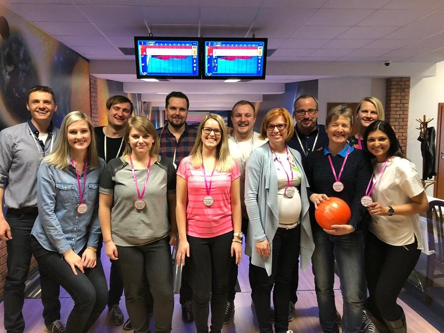 Relycon na bowlingu